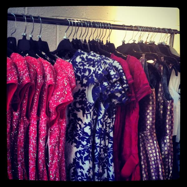 On Set with Rent Frock Repeat
