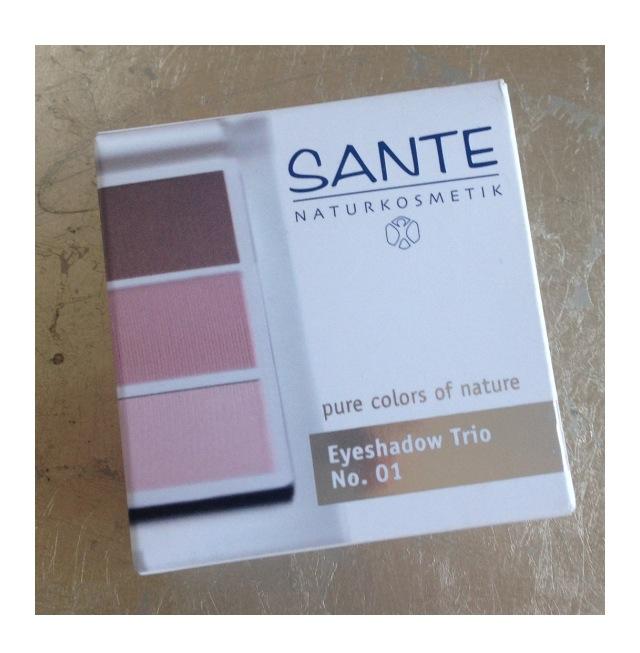 SANTE Cosmetics Eyeshadow Trios