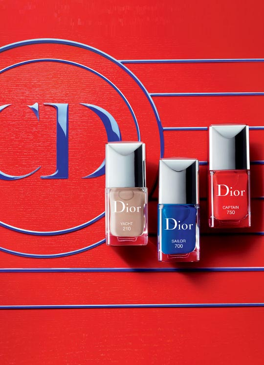 Dior's Transat Nail Lacquers